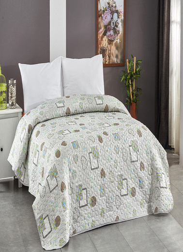 Komfort Home Çift Kişilik Çok Amaçlı Örtü - Pike 200x220 CM / V19 Renkli